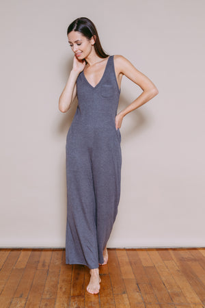 Brooklyn - Lounge Romper Grey