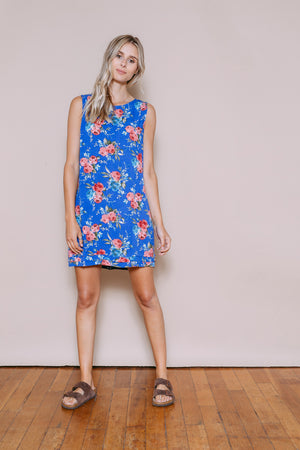 Emily - Sundress Blue Floral