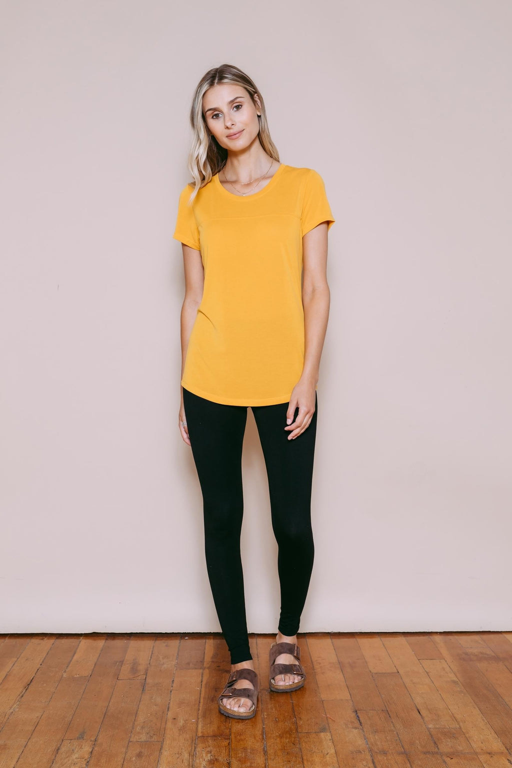 Jesse - Short Sleeve Tee Goldenrod