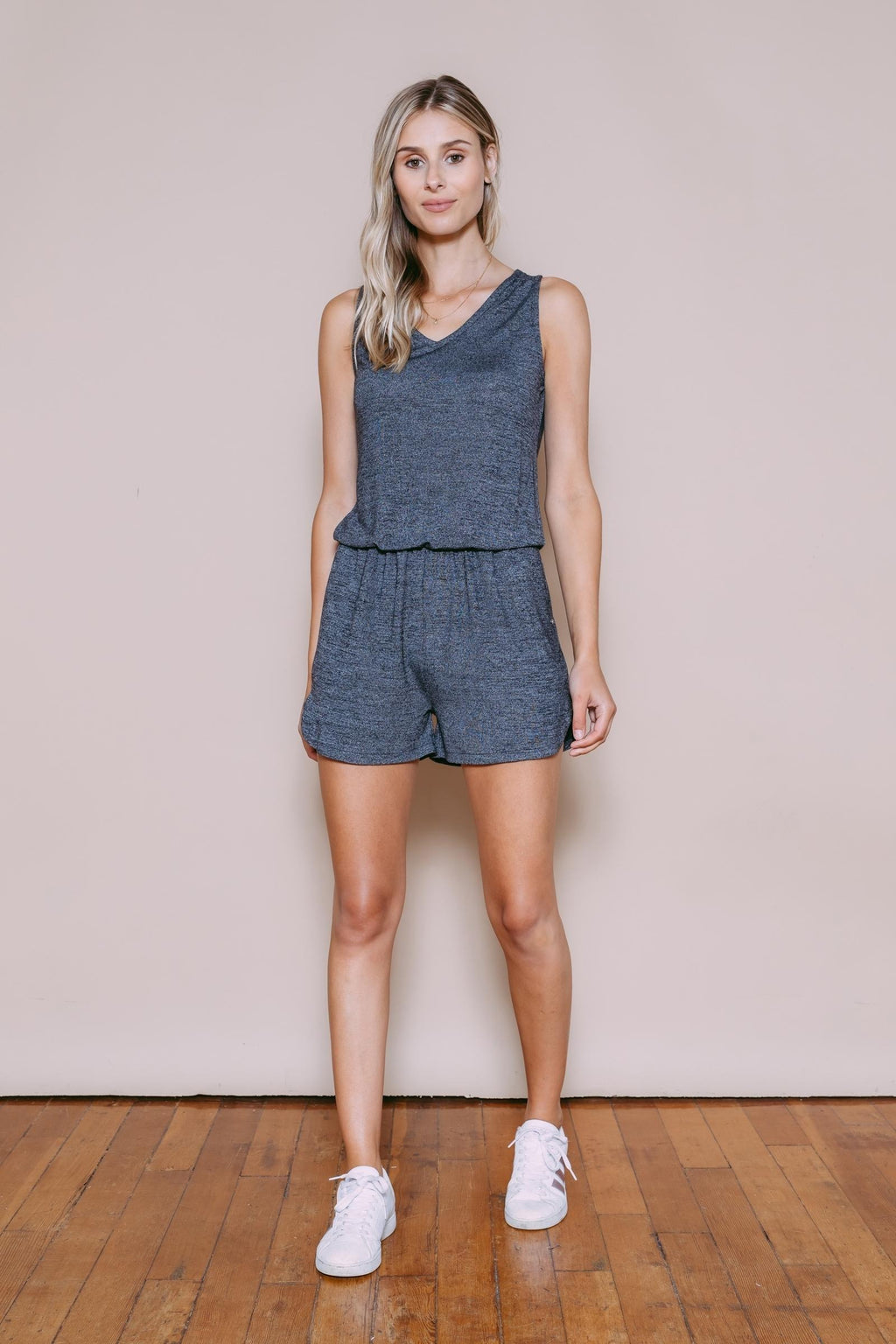 Polly - Easy Romper Black Mix