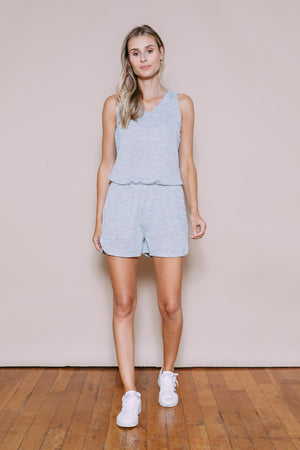 Polly - Easy Romper Light Grey Mix