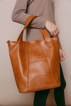 Laurel - Large 2-in-1 Bag Camel