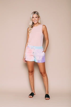 Diana - Supersoft Pull-on Short Cotton Candy Tie Dye