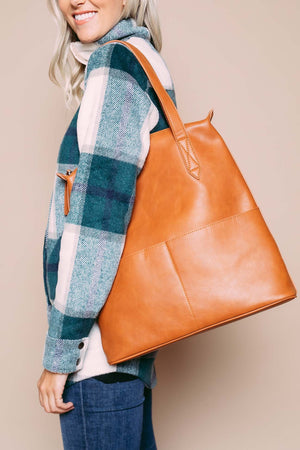 Lu - Large 2-in-1 Tote Camel