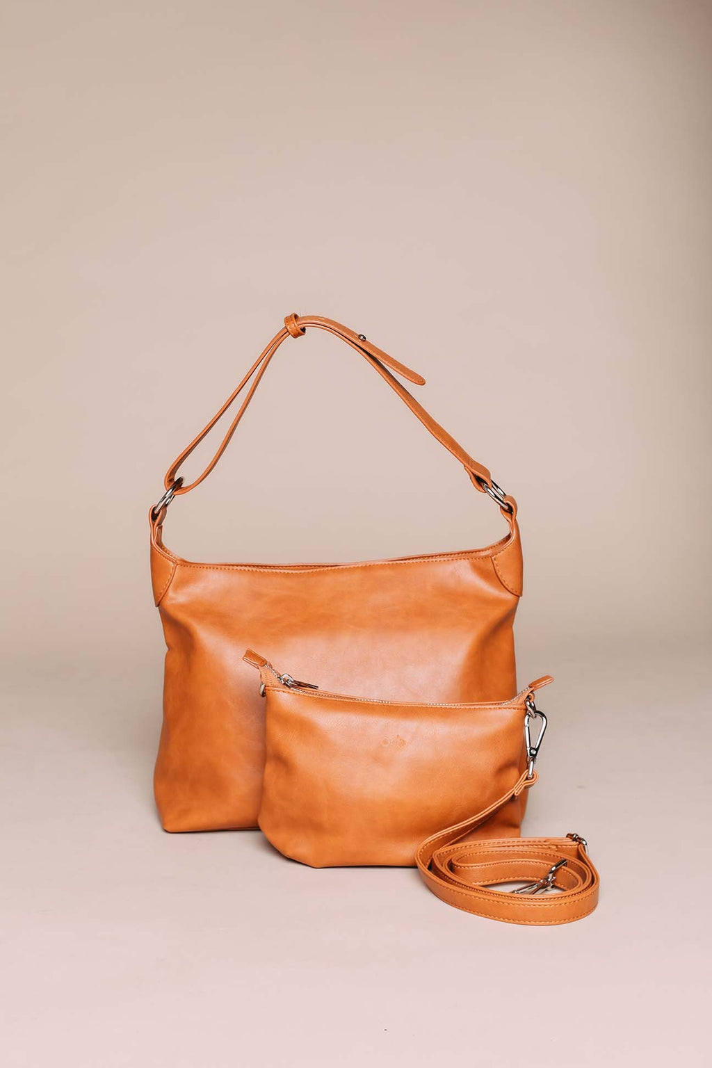 Mahogany - 2-in-1 Bag Camel