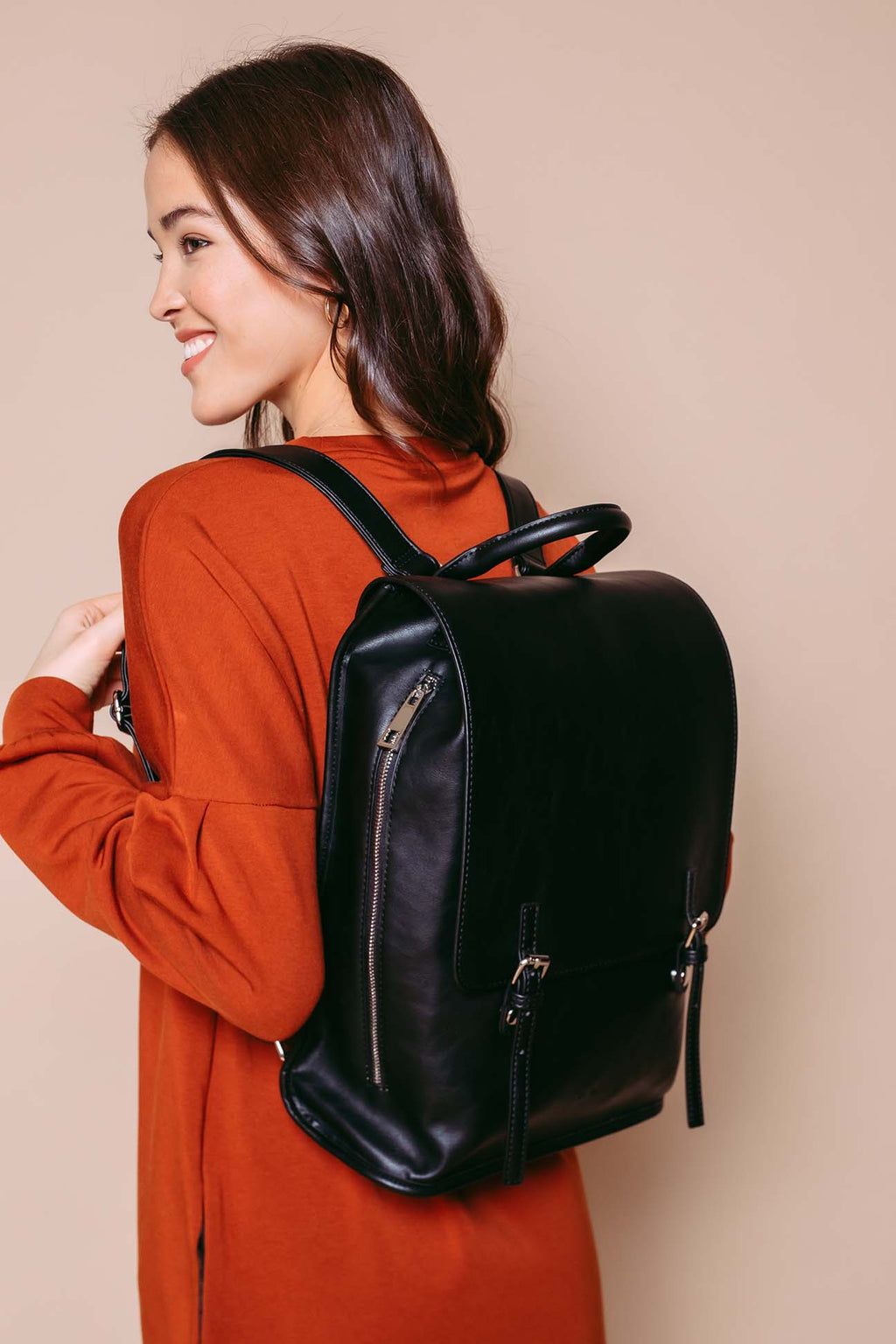 Mila - Backpack Black
