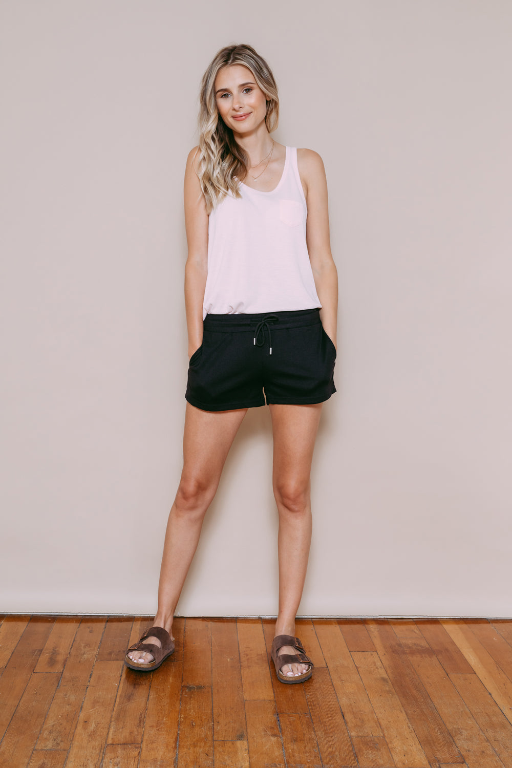 Eloise - Lounge Tank Soft Pink
