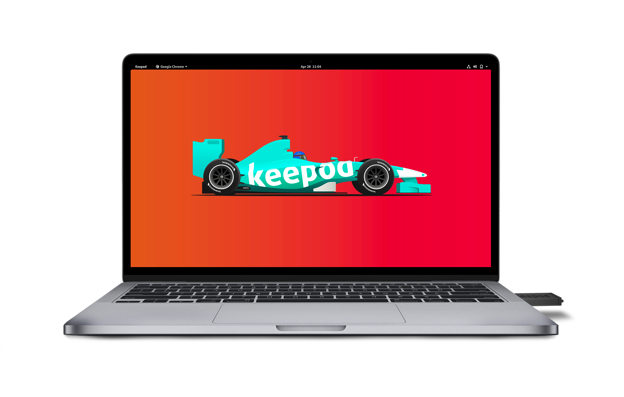 boot keepod on macbook pro 2020