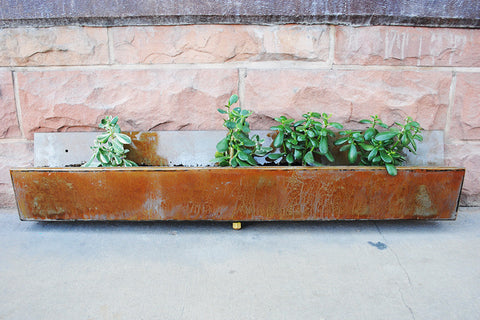 Horizontal Steel Planter