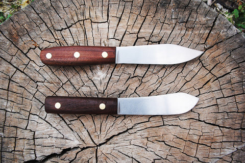 Walnut Green River Knife
