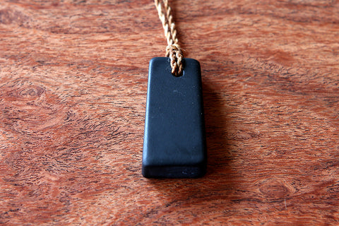 Black Pipestone Pendant