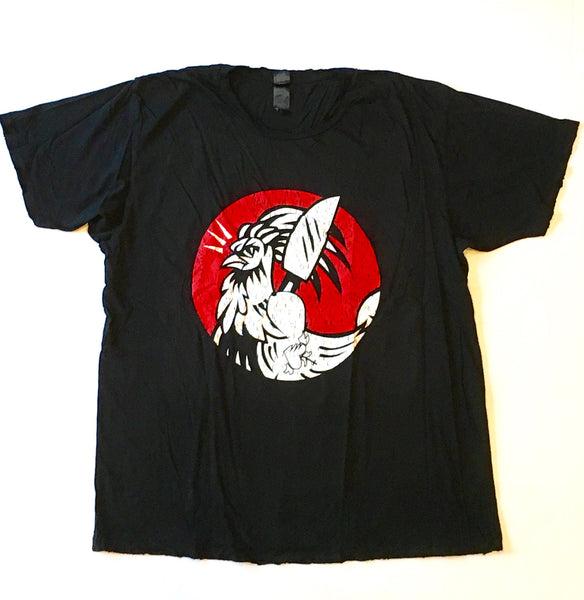 Men's - Rooster Black T-Shirt