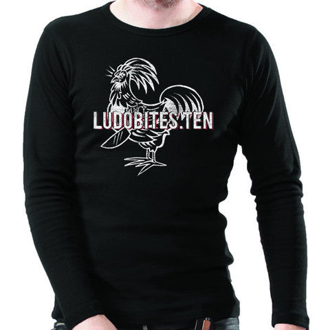 LudoBites.TEN - Men's Long Sleeve Crew
