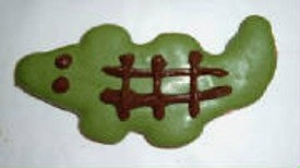 Peanut Butter Specialty Cookie - Alligator