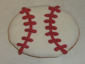 Peanut Butter Specialty Cookie - Baseball