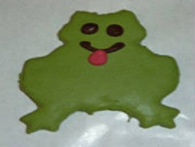 Peanut Butter Specialty Cookie - Frog