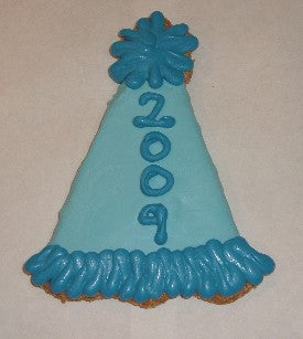 Peanut Butter Specialty Cookie - Party Hat