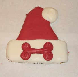 Peanut Butter Specialty Cookie - Santa Hat