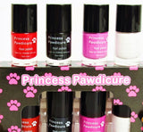 Princess Pawdicure Nail Polish, Non-toxic, Dries in 1 Minute,  No Scent