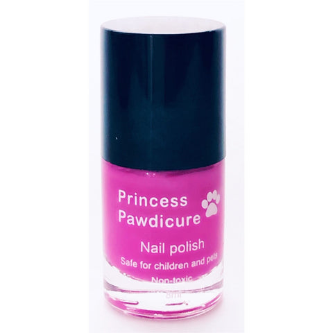 Princess Pawdicure Nail Polish, Non-toxic, Dries in 1 Minute,  No Scent.
