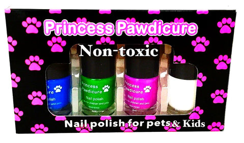 Nail Polish for KIDS & PETS. Non-toxic, Dries in a Minute, NO Scent.