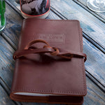 Chef Tim Love Leather bound cowboy journal