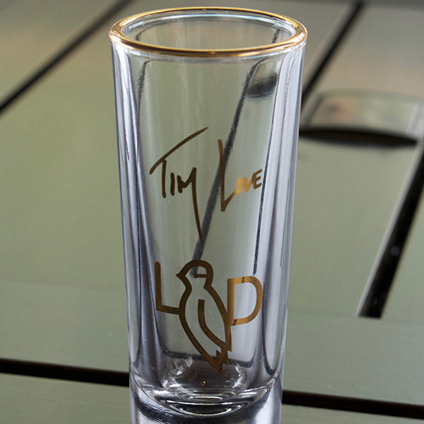 Lonesome Dove Autographed Shot Glass