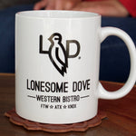 Lonesome Dove Western Bistro Coffee Mug - NEW LOOK!!!!