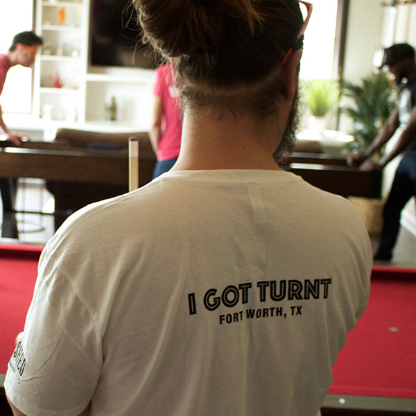 I GOT TURNT at the WOODSHED T-SHIRT