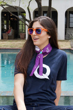 "Queenies ""Q"" Logo V Neck"