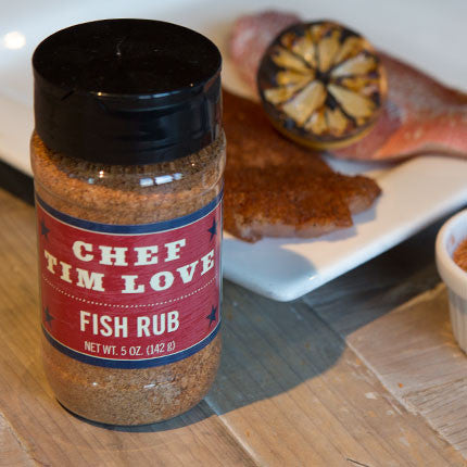 Chef Tim Love Fish Rub