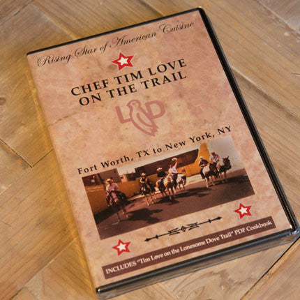 Chef Tim Love on the Trail DVD