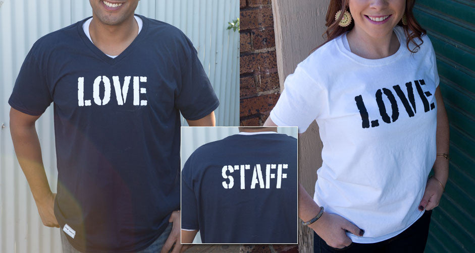 Love Staff Shirt