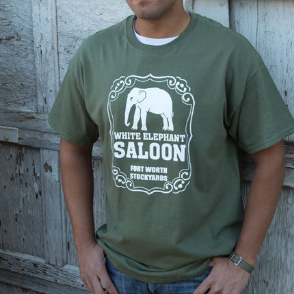 White Elephant Saloon Short Sleeve T