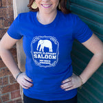 White Elephant Saloon Ladies T