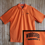 The Official Woodshed Smokehouse Golf Polo