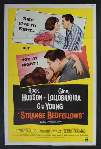 Strange Bedfellows (1965) US One Sheet Movie Poster [Dupe 1-3]