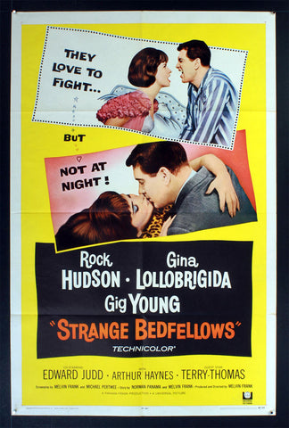 Strange Bedfellows (1965) US One Sheet Movie Poster [Dupe 4]
