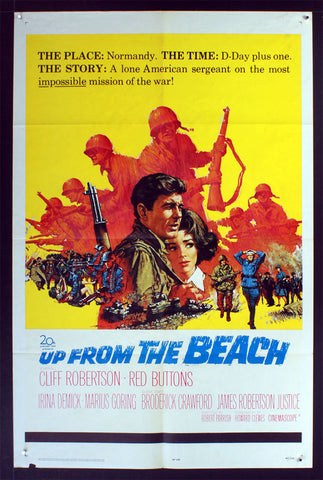Up From the Beach (1965) US One Sheet Movie Poster [Dupe]