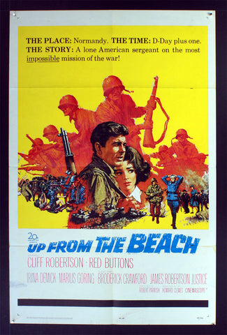 Up From the Beach (1965) US One Sheet Movie Poster