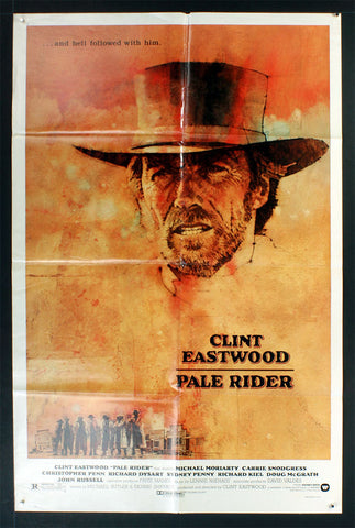 Pale Rider (1985) US One Sheet Movie Poster