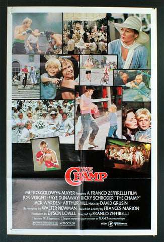 Champ, The (1979) US One Sheet Movie Poster