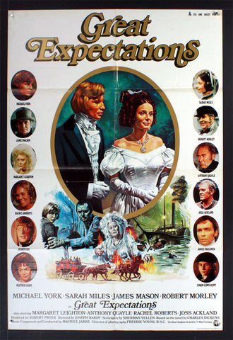 Great Expectations (1974) British One Sheet Movie Poster [Dupe]