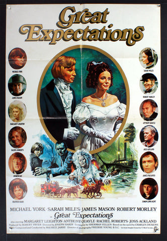 Great Expectations (1974) British One Sheet Movie Poster