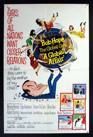 A Global Affair (1964) US One Sheet Movie Poster [Dupe3]