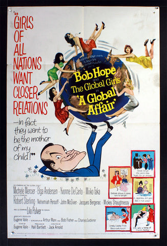A Global Affair (1964) US One Sheet Movie Poster [Dupe2]