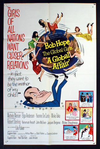 A Global Affair (1964) US One Sheet Movie Poster [Dupe1]