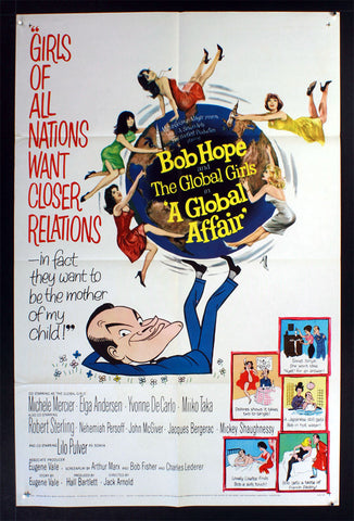 A Global Affair (1964) US One Sheet Movie Poster