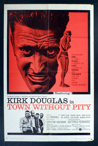 Town Without Pity (1961) US One Sheet Movie Poster [Dupe2]