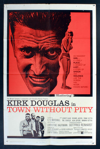 Town Without Pity (1961) US One Sheet Movie Poster [Dupe]